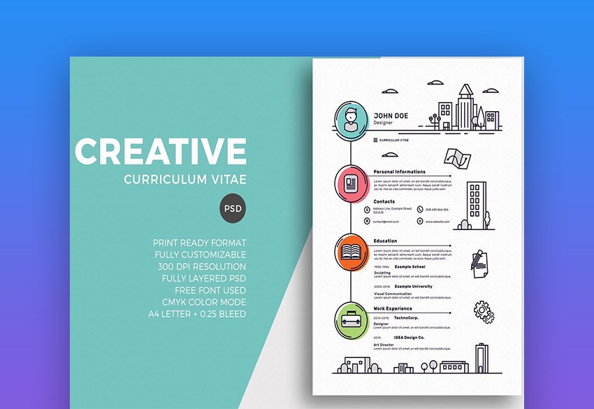 And it's a quite hard task to do today. Free Creative Resume Templates Word Psd Downloads 2021