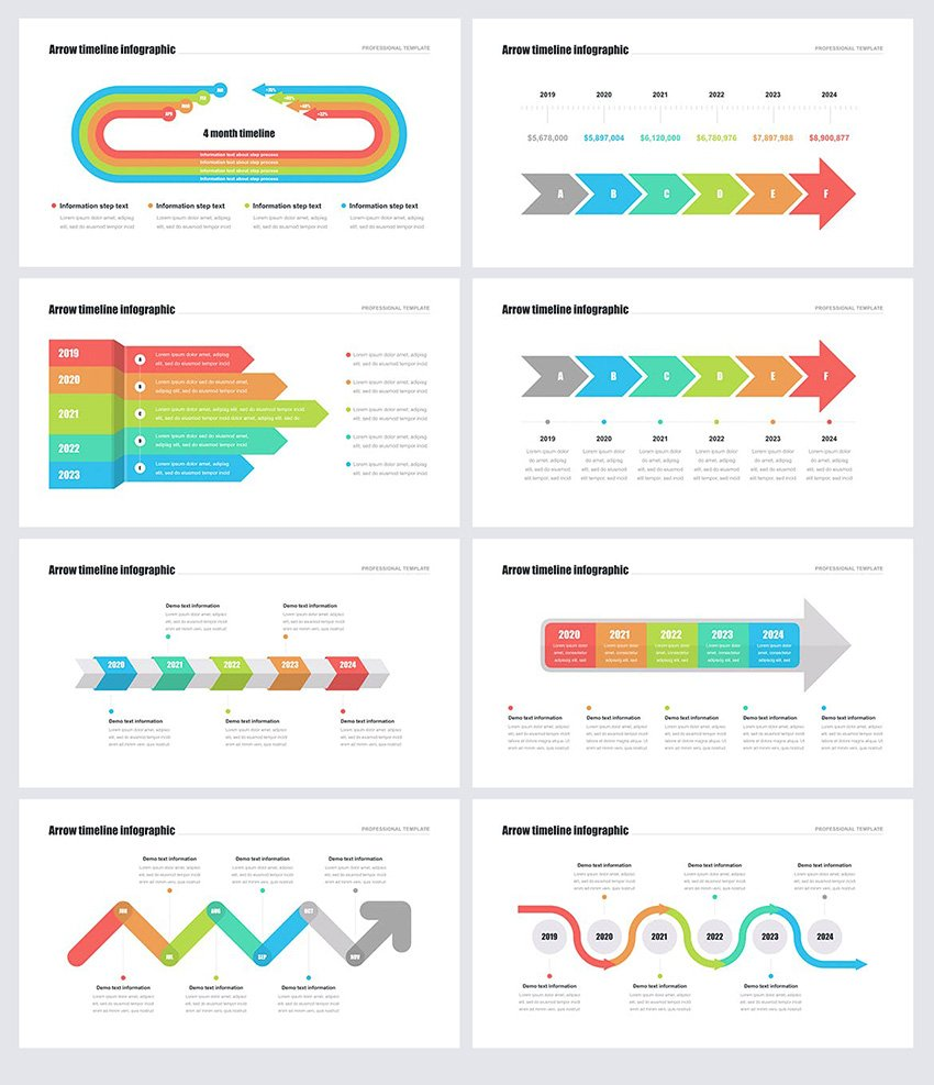 Download the timeline template for your next powerpoint presentation from the. 25 Best Free Powerpoint Timeline And Roadmap Templates Ppts