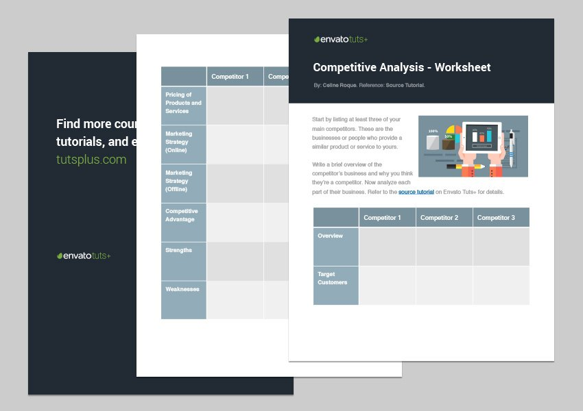 It is perfect for identifying the basic, expected, augmented, and potential benefits of your product. How To Write A Competitive Analysis For Your Small Business With Template