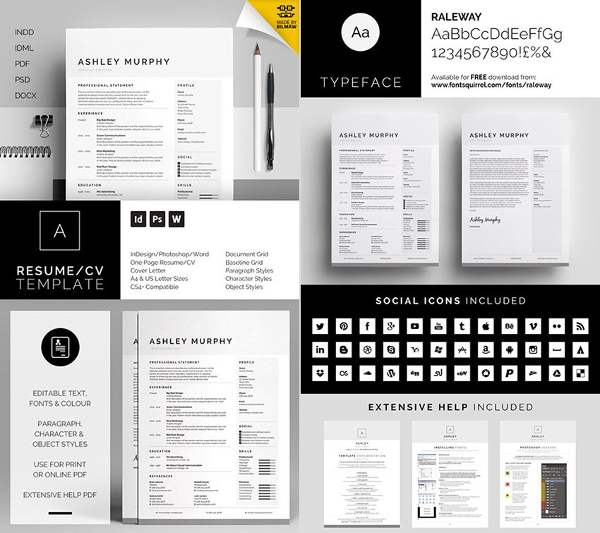 Templates are far more than just convenient — in fact, they can be crucial. 15 Template Resume Ms Word Profesional Dengan Desain Sederhana