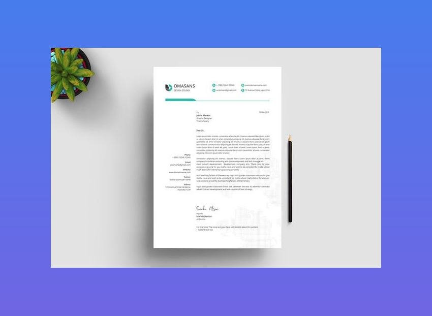 Instantly download free letterhead templates, samples & examples in microsoft word (doc), google docs, apple pages formats. 20 Best Free Microsoft Word Corporate Letterhead Templates