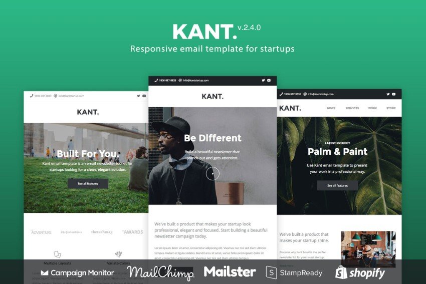 I have managed to begin designing my email so far using the 'responsive' email template. 20 Best Free Email Templates Responsive Html Designs 2021