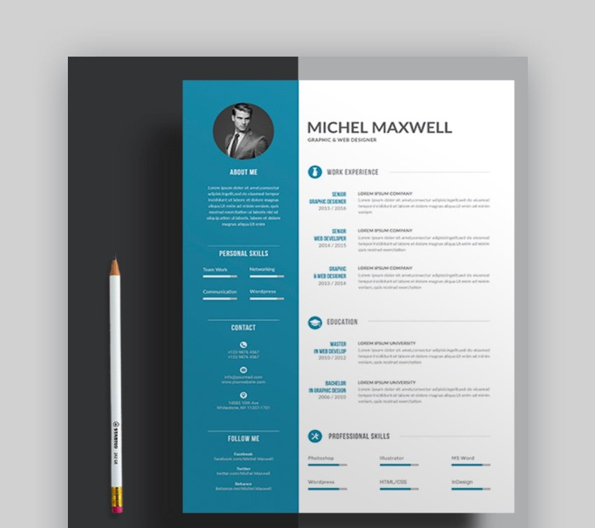 How to format resumes in microsoft office word with and without templates. 39 Professional Ms Word Resume Templates Cv Design Formats