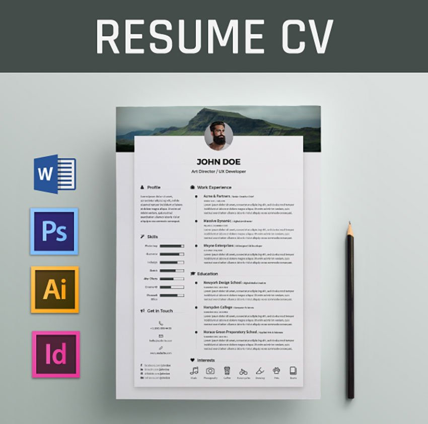 In this technological age, everything is digital, including the method used to send resume files. 20 Best Free Modern Resume Templates And Cv Designs 2021