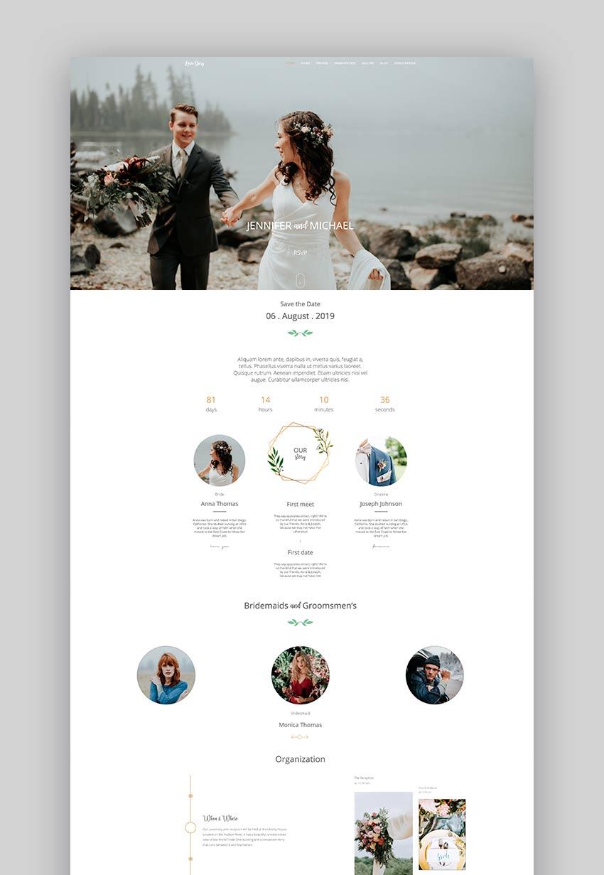 21/07/2021· jack & rose is a classy wordpress wedding website theme. 15 Best Html Wedding Website Templates For 2021