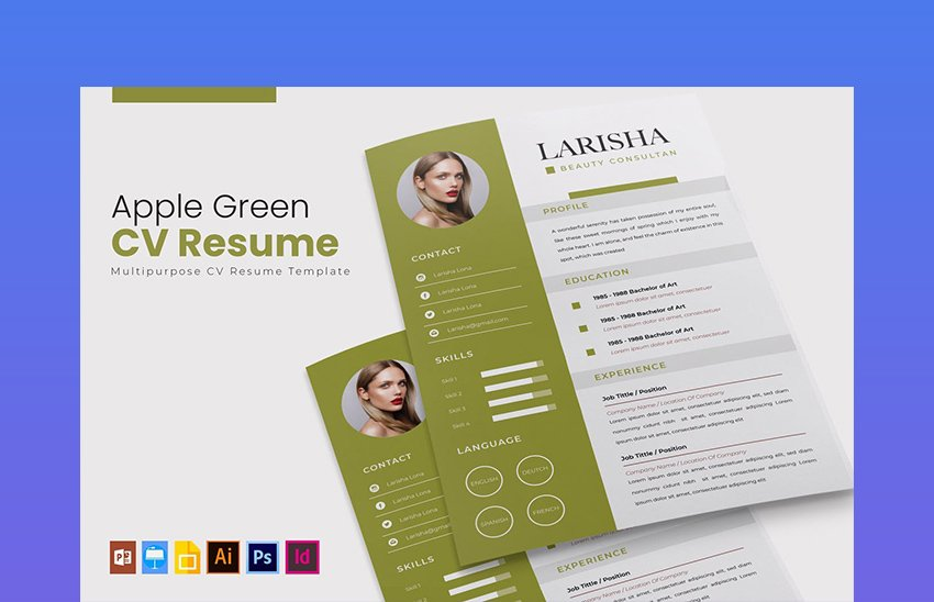 We present you a popular collection of apple pages resume template format for your next job search. 20 Best Free Pages Ms Word Resume Cv Templates 2021