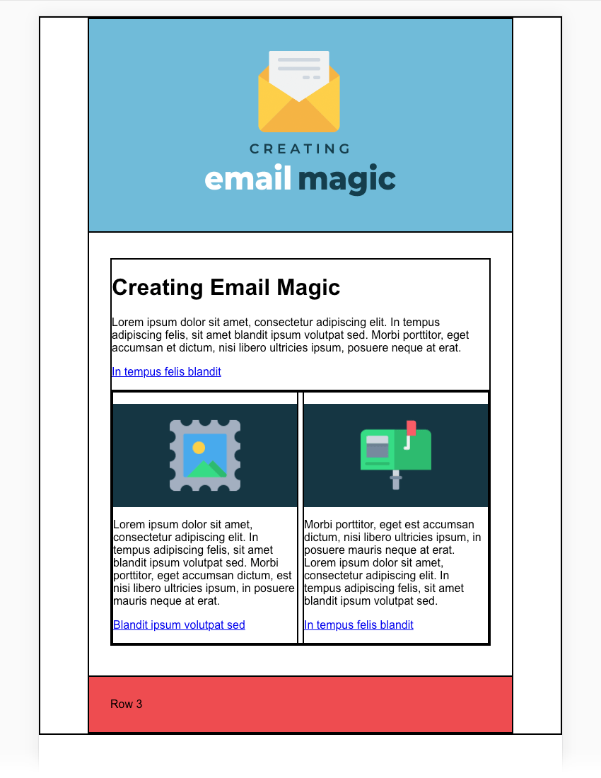 Most support dei, but don't. Build An Html Email Template From Scratch