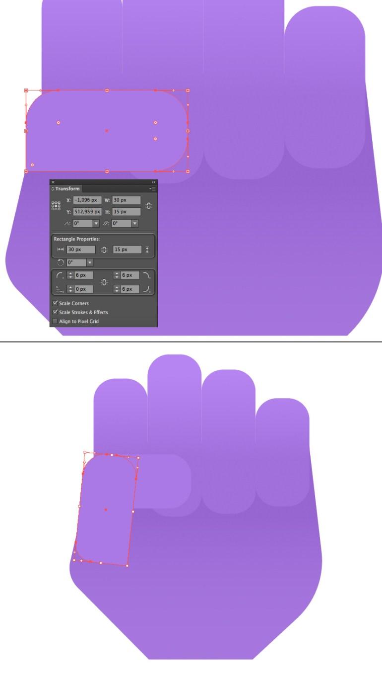 make a thumb