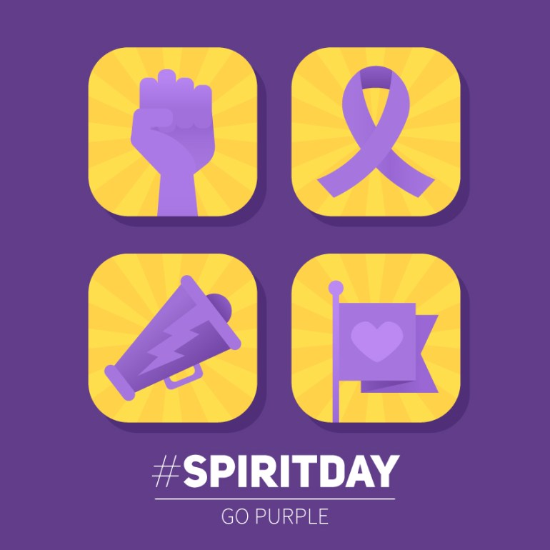 Spirit Day Icons