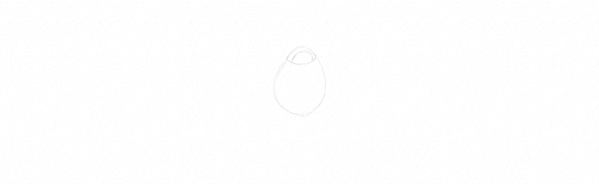 how to draw small rose bud