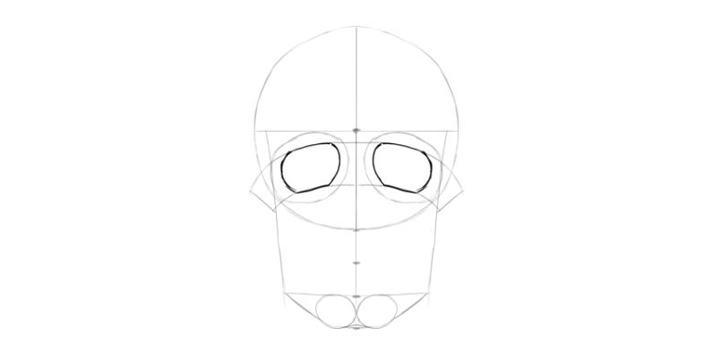 Dibujar una calavera