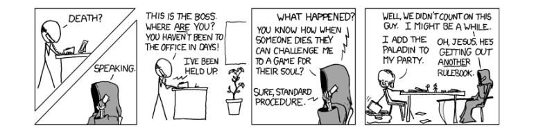 comic strip by xkcd