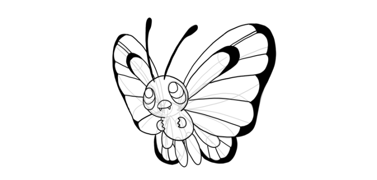 butterfree contrast
