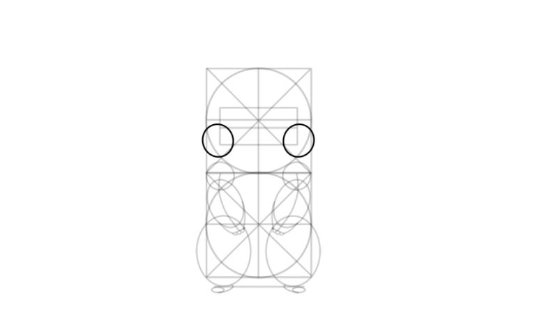 draw pikachu cheeks