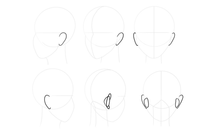 manga ears turnaround