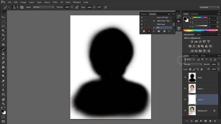 add white background