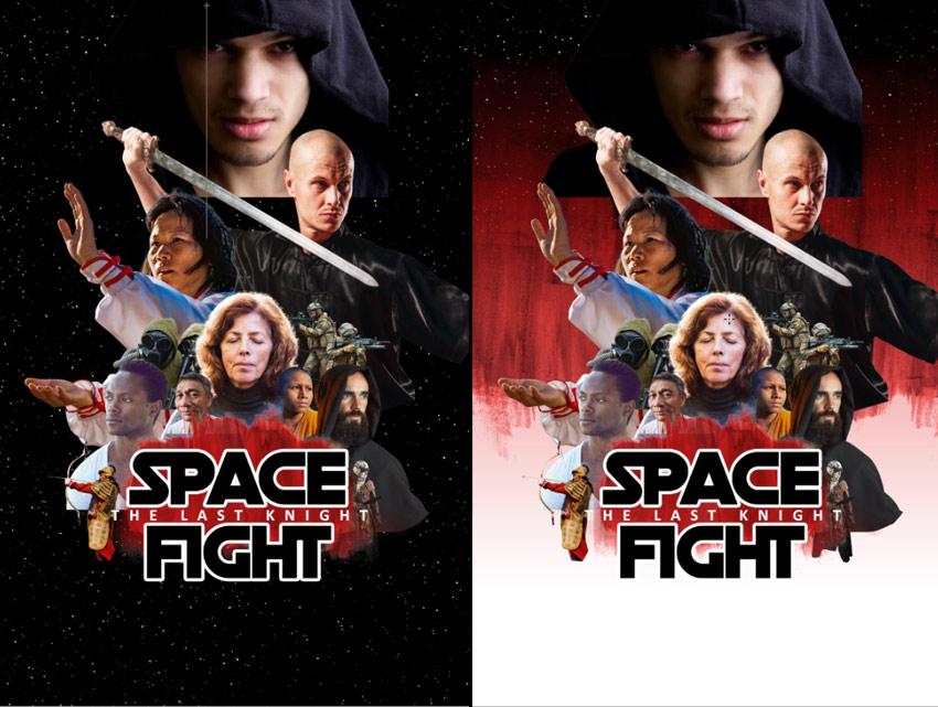 star wars inspired movie poster