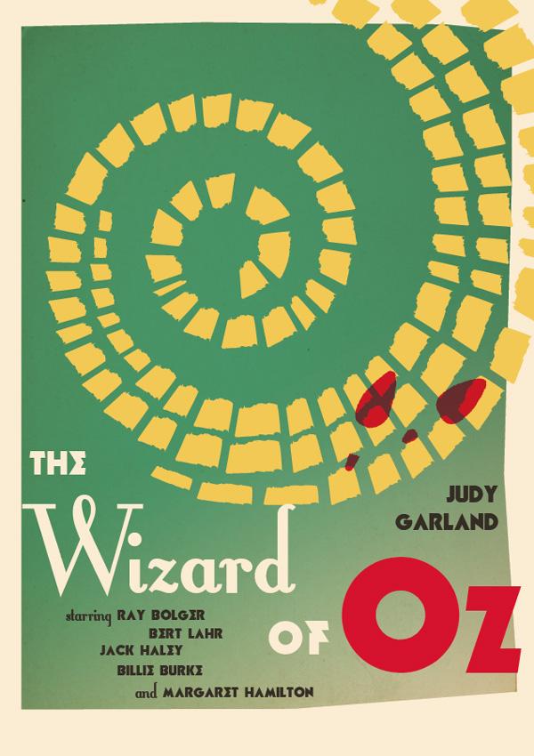 vintage wizard of oz movie poster