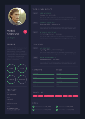 9 Creative Resume Design Tips  With Template Examples  wed designer resume