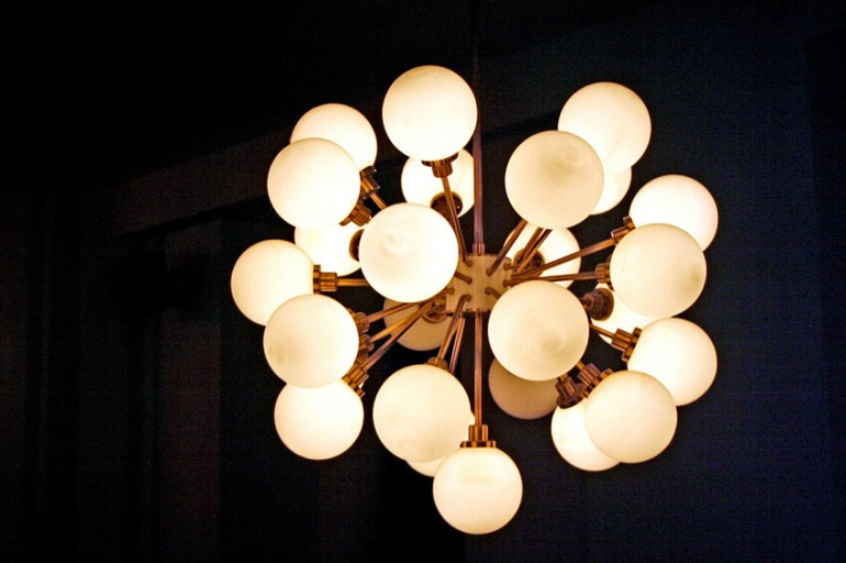 seventies lamp