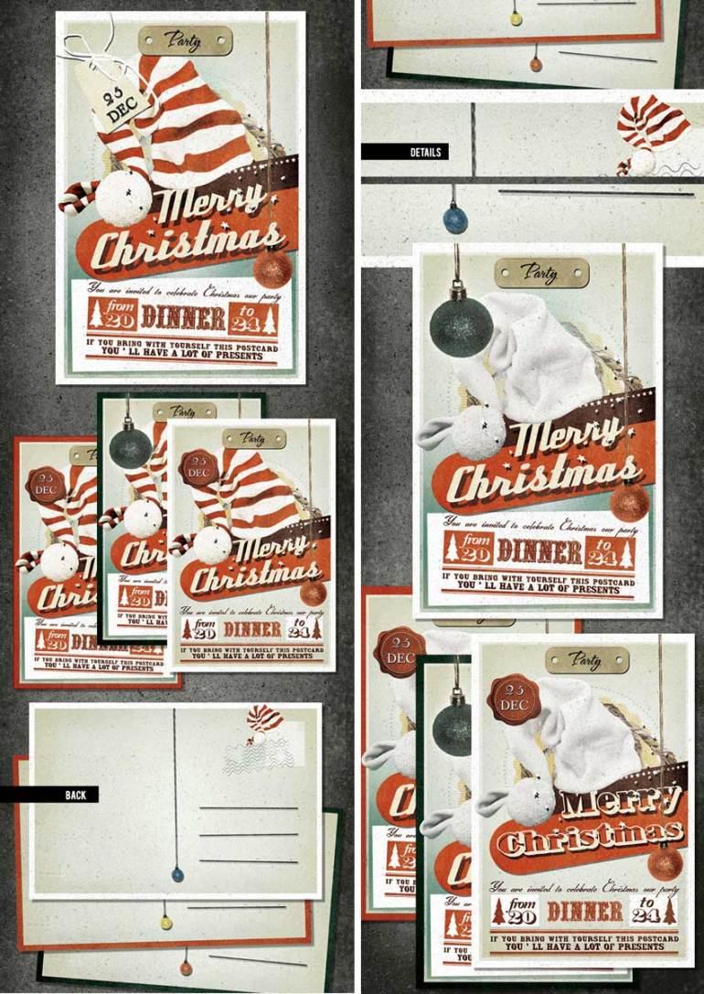 vintage invite template