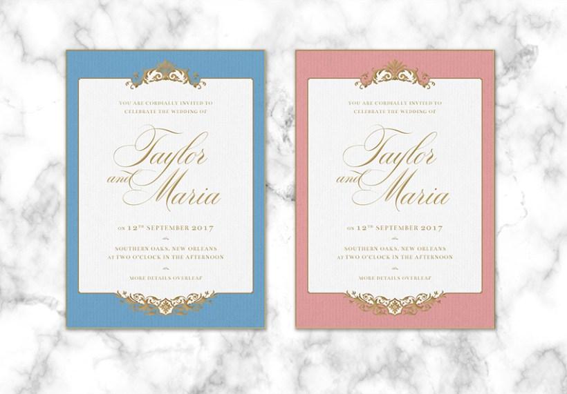 Weddingsindesign Templatesadobe Indesignadobe Ilratorinvitation Designornateprint Designgraphic Designvintage Final Product Image
