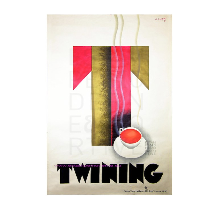 twinings poster