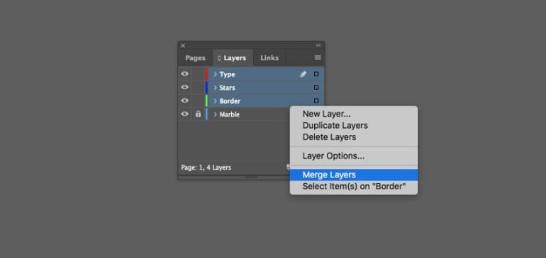 merge layers