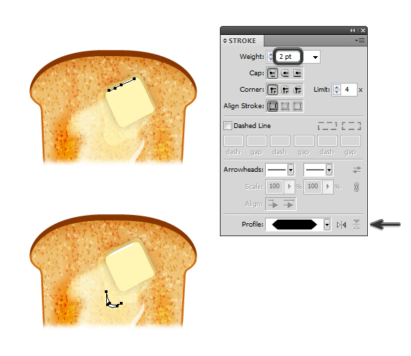 create melted butter on toast 6