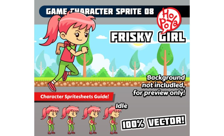 Game Character Sprite 08