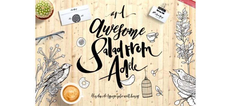 Adele Cute Typeface