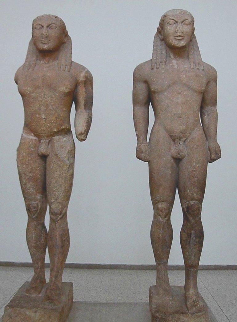 Statues of Kleobis and Biton
