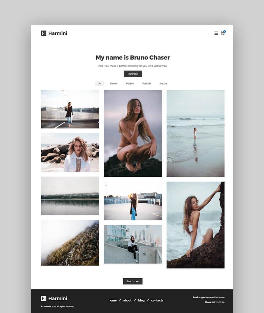 Harmini Photography Theme