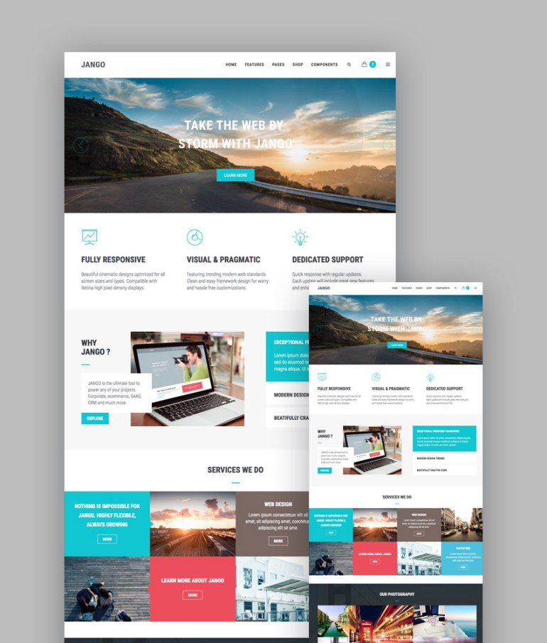 Jango business template