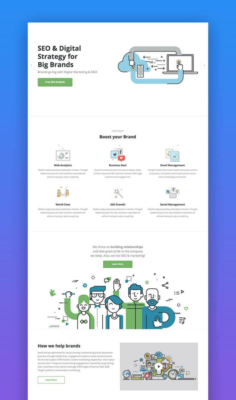 Marketing Pro SEO Theme