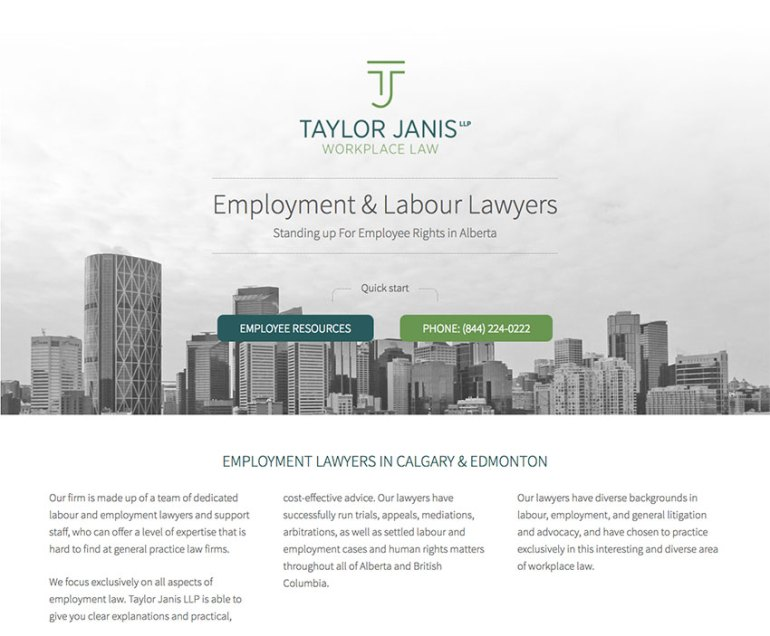 Taylor Janis Workplace Law