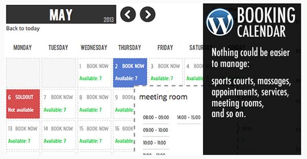 WP Booking Calendar