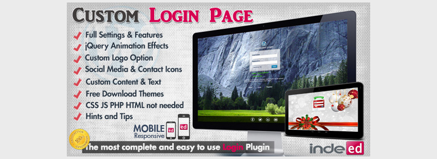 WordPress Custom Login Theme Page