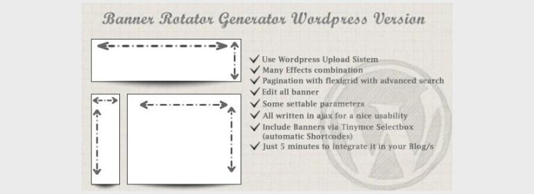Banners Rotator Generator For WordPress
