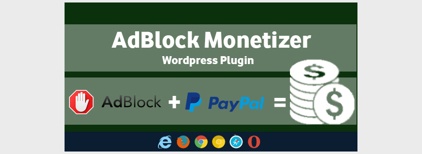 AdBlock Monetizer - WordPress Plugin