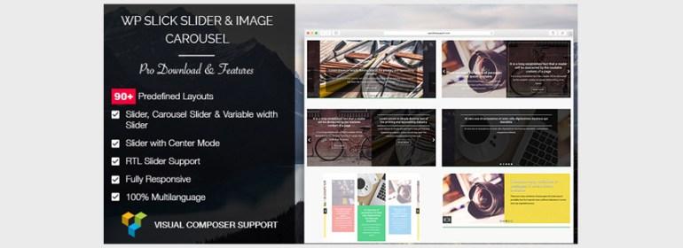 WP Slick Slider and Image Carousel Pro