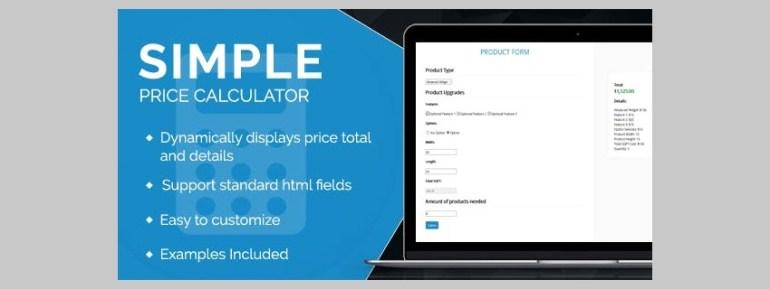 Simple Price Calculator
