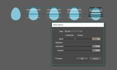 how to create the decoration for the egg