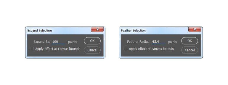 Modifying the selection