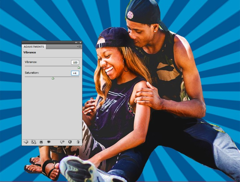 Vibrance Photoshop Adjustment Layer