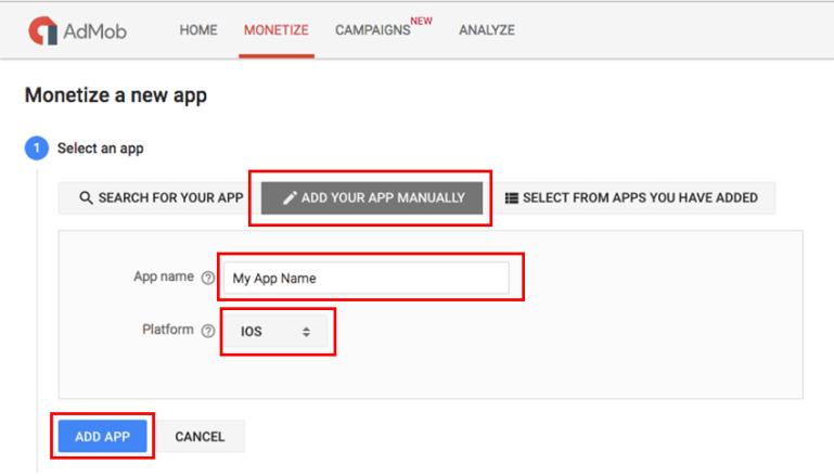 Start monetizing your app