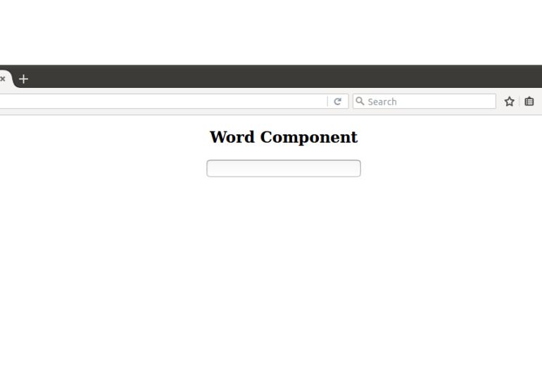 Word Component