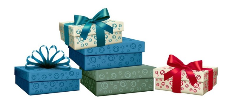 create group of presents