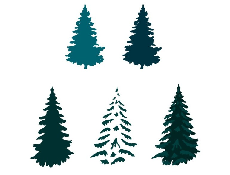 vector pine tree