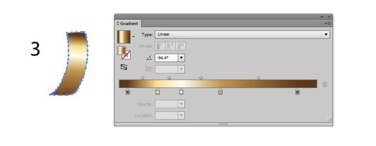 ribbon tutorial vector